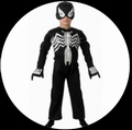 SCHWARZES SPIDERMAN KINDER KOSTÜM - BLACK SPIDERMAN - Kostueme - Superheroes