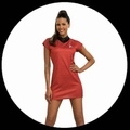 STAR TREK KOSTM - LIEUTENANT UHURA KLEID