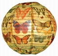 PAPIERLAMPENSCHIRM - HISTORY OF THE BUTTERFLY - SCHMETTERLINGE