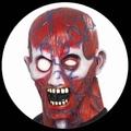 ANATOMIE MUSKEL MASKE - Masks - Horror