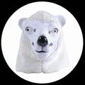 EISBÄR MASKE ERWACHSENE - Masks - Tiermasken
