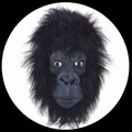 GORILLA MASKE DELUXE ERWACHSENE - Masks - Tiermasken