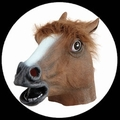 PFERD MASKE BRAUN - Masks - Tiermasken