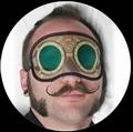 STEAMPUNK SCHLAFMASKE - Masks - Diverse