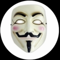 V WIE VENDETTA MASKE - ANONYMOUS - GUY FAWKES - Masks - Diverse