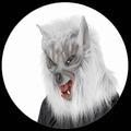 WOLF MASKE GRAU - Masks - Tiermasken