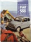 FIAT 500 BLECHSCHILD - CAMPING - Merchandise - Blechschilder - Fiat Merchandise