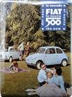 FIAT 500 BLECHSCHILD - DER NEUE - Merchandise - Blechschilder - Fiat Merchandise