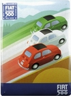 FIAT 500 BLECHSCHILD TRICOLORE - Merchandise - Blechschilder - Fiat Merchandise