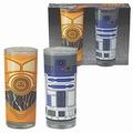 GLÄSER 2ER PACK - STAR WARS - R2-D2 + C-3PO - Merchandise - Gläser