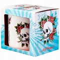 1 x TASSE - ED HARDY - DEATH AND ROSES