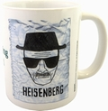 BREAKING BAD TASSE HEISENBERG WANTED - Merchandise - Tassen - Film