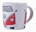 VW BUS T1 BULLI TASSE - ROT - VOLKSWAGEN