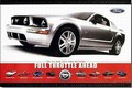 FORD MUSTANG - FULL THROTTLE AHEAD - Plakate - Classic - US-Cars