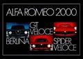ALFA ROMEO 2000 POSTER - Plakate - Classic - Cars