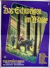 DAS SCHWEIGEN IM WALDE (MOTIV 1) - Filmplakate - Originalplakate - Deutsche: Cult