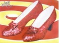 LEINWANDDRUCK - WIZARD OF OZ (RUBY SLIPPERS) - Filmplakate