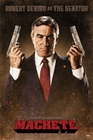 MACHETE POSTER ROBERT DE NIRO AS THE SENATOR - Filmplakate