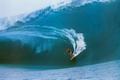 SURFER POSTER BIG WAVE TEAHUPO WAVE