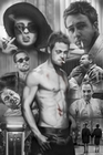 FIGHT CLUB POSTER COLLAGE - Filmplakate