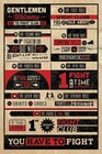 2 x FIGHT CLUB POSTER RULES