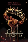 GAME OF THRONES POSTER CROWN FIVE KINGS. ONE THRONE. - Filmplakate