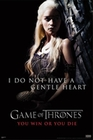 GAME OF THRONES POSTER EMILIA CLARKE - Filmplakate