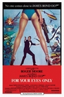JAMES BOND POSTER FOR YOUR EYES ONLY - Filmplakate