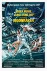 JAMES BOND POSTER MOONRAKER - Filmplakate
