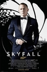 SKYFALL POSTER 007 JAMES BOND BLACK - Filmplakate