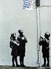 BANKSY POSTER GRAFFITI TESCO FLAG - Kunstdrucke