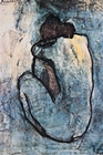 PABLO PICASSO - BLUE NUDE - POSTER - Kunstdrucke