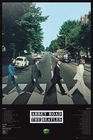 1 x BEATLES POSTER ABBEY ROAD TRACKS