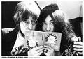 JOHN LENNON & YOKO ONO - Musikposter