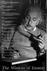 ALBERT EINSTEIN - WISDOM - Starposter