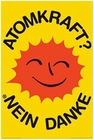 ATOMKRAFT? NEIN DANKE POSTER - Starposter