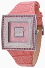 BIG SQUARE -  PINK/PINK - Uhren - Paris Hilton - Big Square