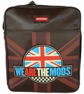 SKYLINE TASCHE WE ARE THE MODS - BRAUN - Taschen - Brighton