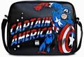 MARVEL - CAPTAIN AMERICA TASCHE - SCHWARZ - KUNSTLEDER - Taschen - Logoshirt