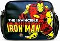 MARVEL - IRON MAN TASCHE - SCHWARZ - KUNSTLEDER - Taschen - Logoshirt