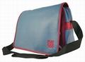 FIAT 500 TASCHE - MESSENGER BAG - BLAU - Taschen - Merchandise