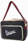 VESPA SCHULTERTASCHE - SCHWARZ-ROT