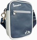 VESPA SCHULTERTASCHE KLEIN - BLAU