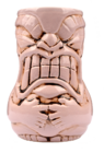 TIKI MUG BIG BELLY PURPLE