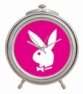 PLAYBOY CHROM WECKER PINK - Uhren - Playboy