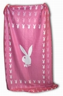 PLAYBOY FLEECE DECKE - PINK - Merchandise - Playboy - Home