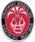 2 x APARTMENT WRESTLING PATCH