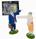 WALL STREET ZOMBIES SET - Toys - Action Figure - Horror