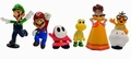 NINTENDO MINI FIGUREN SET - SUPER MARIO - Toys - Action Figure - Nintendo Merchandise