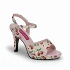 AMUSE-05G - PINK ANKLE STRAP SANDAL 